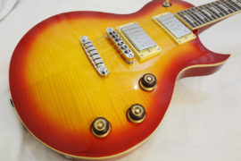 Ibanez-ARZ200FM-CRS Front Angled