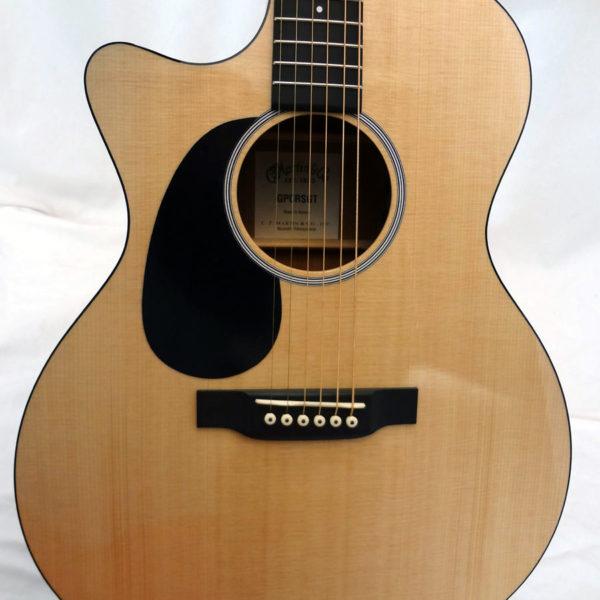 GPCRSGTL C.F. Martin Grand Performer Left Handed Guitar Front Close Up View