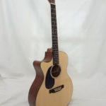 GPCRSGTL C.F. Martin Grand Performer Left Handed Guitar Side View