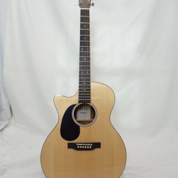 GPCRSGTL C.F. Martin Grand Performer Left Handed Guitar Front View