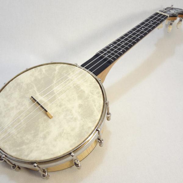 Jere Canote Banjo Uke C-1993 Little Wonder Full Angled Front