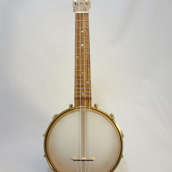 Jere Canote Banjolele Spalted Maple C-1992 Front View