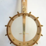 Jere Canote Banjolele Spalted Maple C-1992 Back View