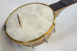 Jere Canote Pony Banjo Front Angled View