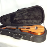Kanile'a Concert All Solid Deluxe Koa Gloss Ukulele with Case