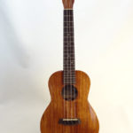 Kanile'a Tenor All Solid Koa Gloss Ukulele Full Front View