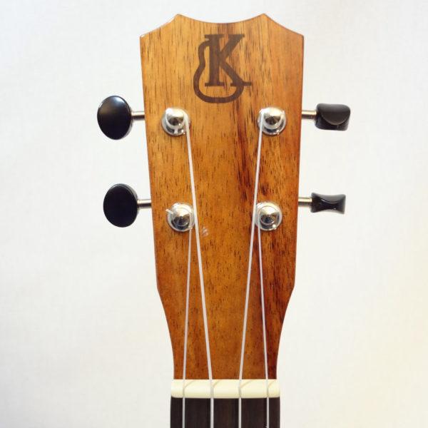 Kanile'a Tenor All Solid Koa Gloss Ukulele Headstock