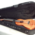 Kanile'a Tenor All Solid Koa Gloss Ukulele with Case