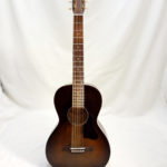 Art & Lutherie Roadhouse Acoustic Guitar Bourbon Finish Front View