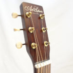 Art & Lutherie Roadhouse Acoustic Guitar Bourbon Finish Headstock