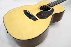 C.F. Martin 0-18 Acoustic Guitar Spruce Top Angled View