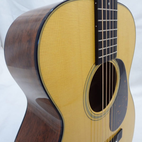 C.F. Martin 0-18 Acoustic Guitar Spruce Top Close Up View