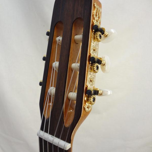 La Patrie Concert Cutaway with Pickup Nylon Classical Guitar Headstock
