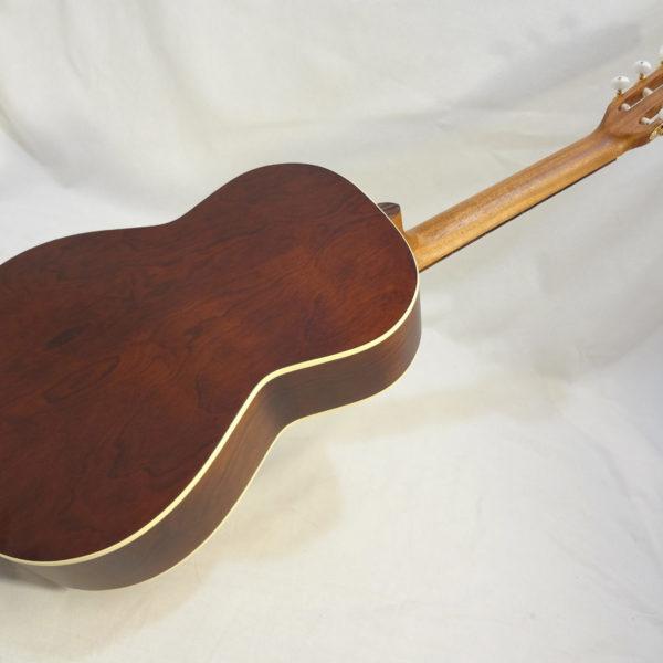 La Patrie Etude Nylon Guitar Angled Full Back View