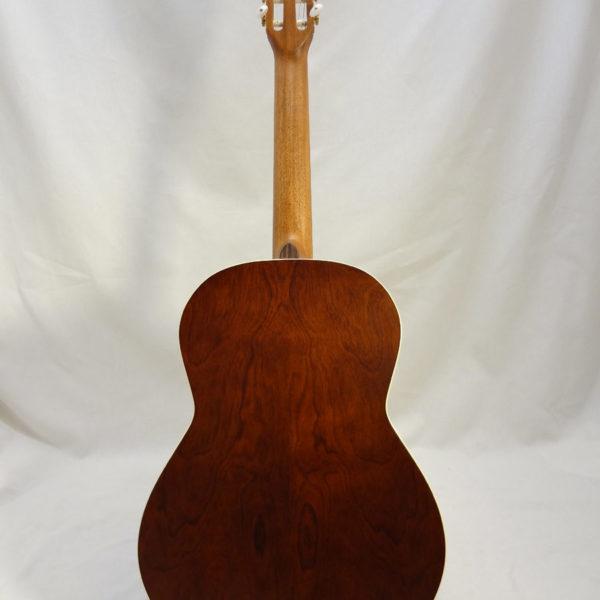 La Patrie Etude Nylon Guitar Full Back View