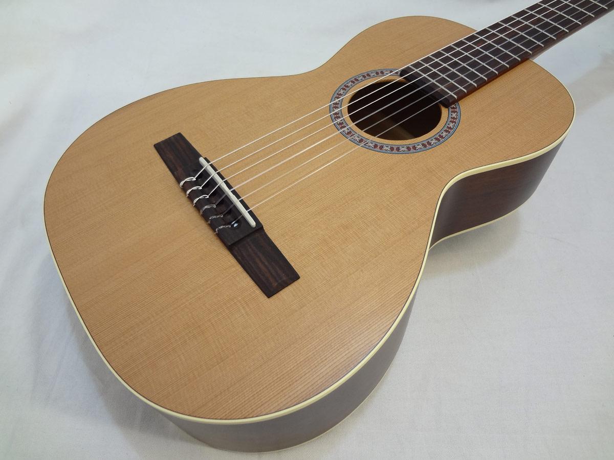 La Patrie Motif Nylon Classical Guitar Front Close Up
