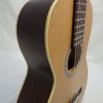 La Patrie Motif Nylon Classical Guitar Side Close Up
