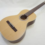 La Patrie Motif Nylon Classical Guitar Full Front Angled View