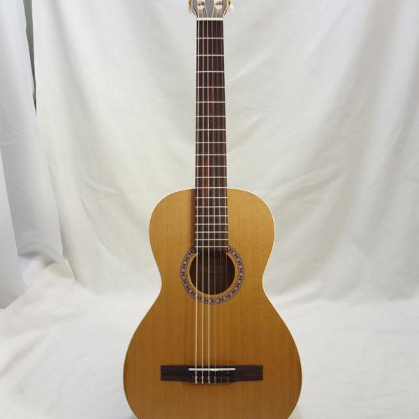 La Patrie Motif Nylon Classical Guitar Full Front View