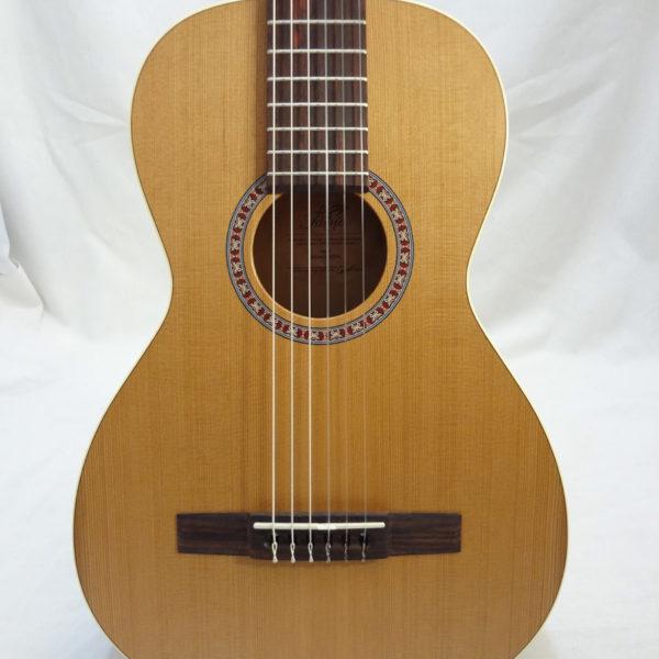 La Patrie Motif Nylon Classical Guitar Front View