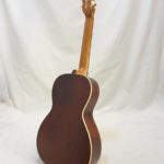 La Patrie Motif Nylon Classical Guitar Back Angled Full View