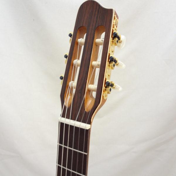 La Patrie Presentation Nylon Classical Guitar Headstock