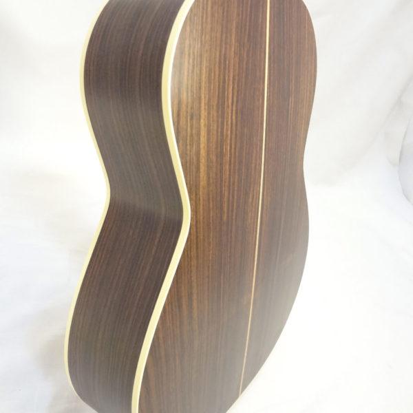 La Patrie Presentation Nylon Classical Guitar Side View