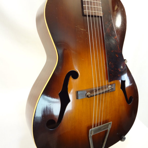 Kalamazoo Archtop Guitar C.1940 KG-22 Side Front View