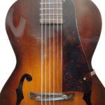 Kalamazoo Archtop Guitar C.1940 KG-22 Bridge