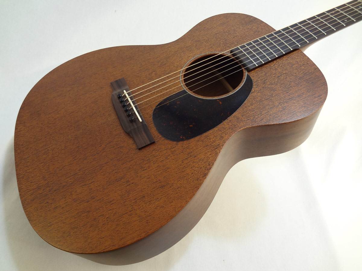 C.F. Martin 000-15M Mahogany Guitar Front Angled Close Up View