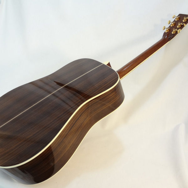 C.F. Martin D-41 Acoustc Dreadnought Guitar Angled Back View