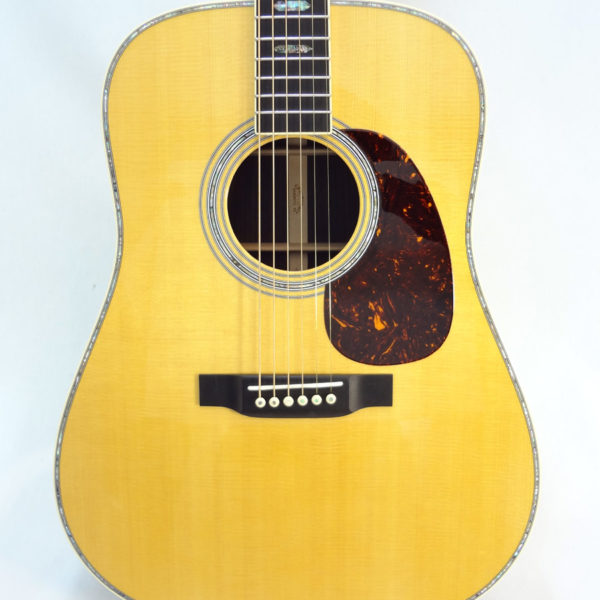 C.F. Martin D-41 Acoustc Dreadnought Guitar Front Close Up