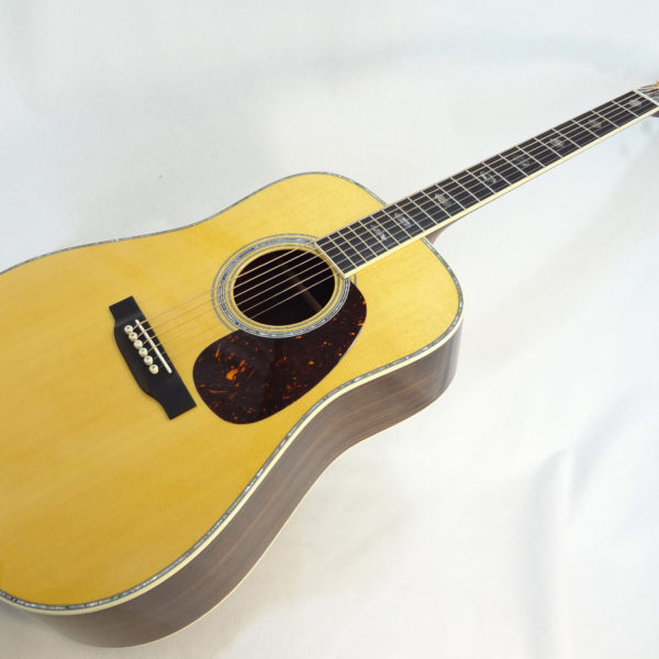 C.F. Martin D-41 Acoustc Dreadnought Guitar Angled Front