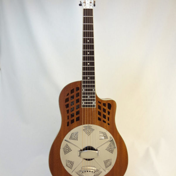 National ResoRocket Resonator Guitar Full Front View