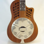 National ResoRocket Resonator Guitar Front View