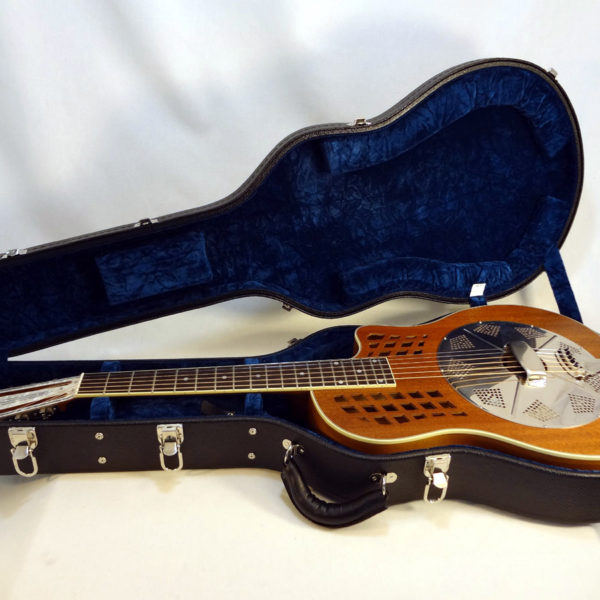 National ResoRocket Resonator Guitar with Case