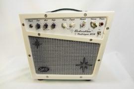 Retrofier MCM All Analog Guitar Amp - Cream Front View