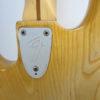 Fender Jazz Bass 1976 Seriel Number View