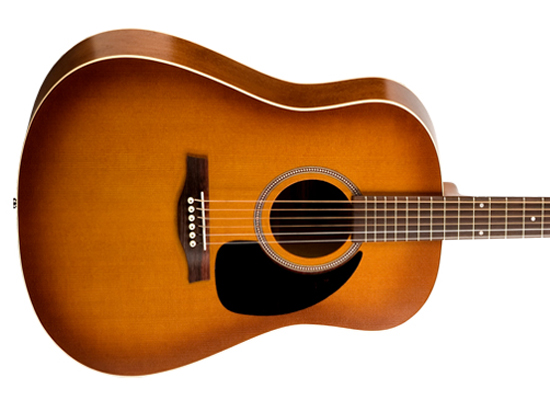 crossroads music rental seagull dreadnought guitar with pickup. Black Bedroom Furniture Sets. Home Design Ideas