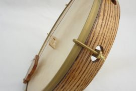 Eric Prust Minstrel Banjo Pot View