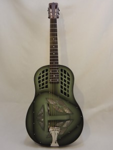 National Resonator NRP Tricone Guitar Full Front View