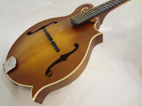 Weber Bitterroot F-Style Mandolin Angled View