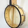 Jere Canote Banjo Uke C-1993 Little Wonder Back Rim View