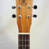 Kanile'a Concert All Solid Deluxe Koa Gloss Ukulele Headstock