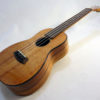 Kanile'a Concert All Solid Deluxe Koa Gloss Ukulele Angled View