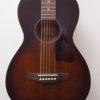 Art & Lutherie Bourbon Burst Acoustic Guitar Front Closeup