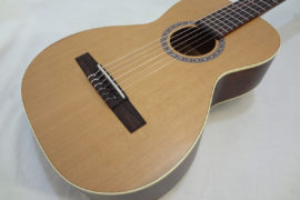 La Patrie Motif Nylon Classical Guitar Front Close Up