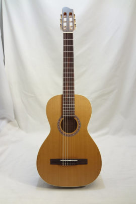 La Patrie Motif Nylon Classical Guitar Full Front View