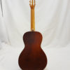 La Patrie Motif Nylon Classical Guitar Full Back View
