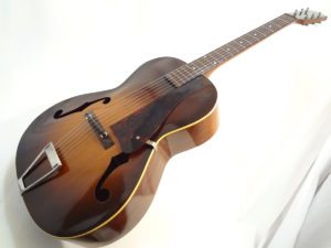 Kalamazoo Archtop Guitar C.1940 KG-22 Angled Front View